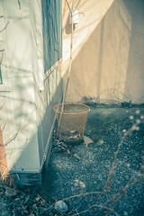 Neon Trashcan (IAmTheSoundman) Tags: old ohio abandoned apartments jake takumar decay 28mm cement crumbling urbanexploring efficiency barshick