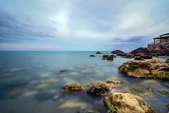 Towards the horizon (#Luka#) Tags: sea sky italy sun seascape beach nature clouds landscape long exposure horizon tokina1224 tokina filter towards calabria caminia haida ionian nd1000 d7100 nikond7100