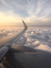 American Airlines in Miami en route to St. Kitts.  #travel (Travel Galleries) Tags: trip travel usa white window clouds america plane silver airplane photography unitedstates miami aircraft seat scenic american airlines aa lining stkitts enroute