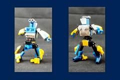 """Blue Streak"" Rooftop Racer (TTTB Challenge) (phayze81) Tags: rooftop lego scifi sciencefiction mecha mech moc rtr mfz mf0 mobileframezero tttbchallenge"