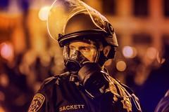 Oakland 2010 (Thomas Hawk) Tags: california usa oakland riot cops unitedstates fav50 unitedstatesofamerica protest police cop chp gasmask eastbay riots fav10 californiahighwaypatrol fav25 oscargrant oaklandriots johannesmersehle oaklandca070810 oaklandriots2010
