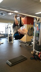 Hanging Leg Raises with Slings (personaltrainertoronto) Tags: fitness abs workout personal trainer hanging leg raises core strength muscles slings harbinger