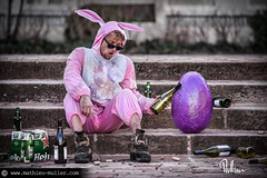 he's waiting for Jessica Rabbit (Mathieu Muller) Tags: rabbit beer easter hare wine bottles outdoor pavement egg dirty alcool alcohol vin alcoholic lapin bire trottoir oeuf bouteilles paques alcoolique livre crade crado mathieumuller wwwmullermathieucom