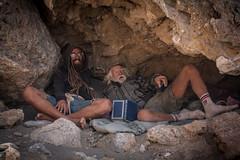 Soul Searcher and ex-sailor! (Leonidas5) Tags: beach beard book oldman hippie