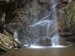 Roughting Linn Waterfall (craigdwilkinson) Tags: longexposure water rock canon waterfall moss northumberland waterblur northeast routinlinn roughting roughtinglinn routin kissx4 latierraunparaiso