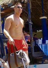 IMG_0761 (danimaniacs) Tags: shirtless man hot guy pecs hunk trunks swimsuit stud sext