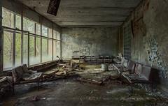 Sperrzone von Tschernobyl - Prypjat Krankenhaus (Nils Grudzielski) Tags: urban canon hospital lost decay room ruin indoor ukraine explore 1986 zone krankenhaus verlassen destroy chernobyl klinik urbex marode tschernobyl verfallen mucor