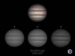 Giove - C11 EdgeHD - RGB (Paolo De Salvatore) Tags: hd rgb c11 giove