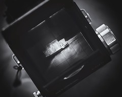 See through (Pavel Cervenka Photographer) Tags: camera blackandwhite bw detail art tlr glass monochrome beautiful matrix closeup canon vintage wow dark nice interesting republic mechanical czech awesome indoor retro reflect lightning product impressive pavel viewfinder flexaret cervenka twinlens 60d efs60f28macro
