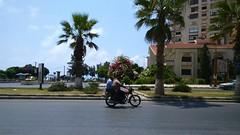 (nesreensahi) Tags: street trees cars nature landscape corniche syria siria  syrie latakia