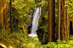 Upper Falls (Bob_2006) Tags: hike westvancouver wanderung cypressfalls