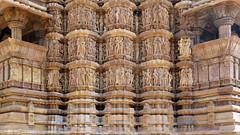 India - Madhya Pradesh - Khajuraho - Khajuraho Group Of Monuments - Kandariya Mahadeva Temple - 224 (asienman) Tags: india khajuraho madhyapradesh khajurahogroupofmonuments asienmanphotography