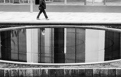 Decapitated (stephenbryan825) Tags: reflection water glass liverpool graphic hilton stillness quirky selects