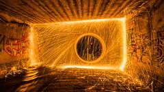 Firewall (MrProd) Tags: vienna wien city light lightpainting hot art wall night dark painting underground fire austria nikon europe outdoor tunnel symmetry tokina lightning dslr available firewall steelwool 1116 d7200