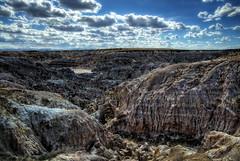 Hell's Half Acre (RH Miller) Tags: usa landscape wyoming geological hellshalfacre reedmiller rhmiller