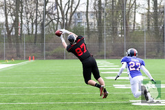 "GFL Juniors Dortmund Giants vs. Düsseldorf Panthers 09.04.2016 012.jpg • <a style=""font-size:0.8em;"" href=""http://www.flickr.com/photos/64442770@N03/26330720675/"" target=""_blank"">View on Flickr</a>"