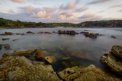 Inner Cove (Crouchy69) Tags: ocean sea sky seascape water clouds sunrise landscape dawn bay coast rocks long exposure little sydney australia