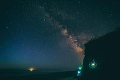 The Milky Way Rises Over Cape Cod (ejmoreno783) Tags: ocean longexposure beach night canon way stars ma coast solar spring capecod massachusetts guard newengland astro system galaxy astrophotography cape mass milky seashore eastham 6d thecape 2016 emoreno