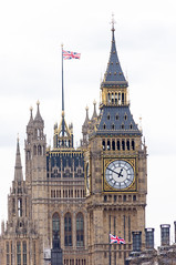 Big Ben (Stephen T Slater) Tags: uk england london clock unitedkingdom londoneye bigben gb unionflag palaceofwestminster elizabethtower