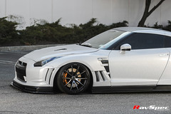"RAYS VOLK Racing G25 D-BK 2015 Limited Edition - Nissan GTR R35 Skipper Wide Body • <a style=""font-size:0.8em;"" href=""http://www.flickr.com/photos/64399356@N08/26442241912/"" target=""_blank"">View on Flickr</a>"