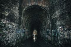 The Screaming Tunnel (B.E.K.) Tags: ontario canada abandoned tunnel niagara falls haunted screaming thorold nikon173528 nikond600