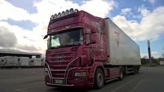 Finland Trucks (engels_frank) Tags: pink ferry suomi finland volvo finnland renault camion trucks panther fhre scs scania naantali lastwagen aland lkw finnlines land rekka gigaliner strm savikko eurocombi