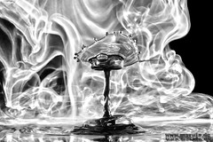 in order (michaelfritze) Tags: art water wasser bubbles drop splash liquids highspeed wassertropfen tropfen tats highspeedphotography fontne liquidart strobist farbtropfen hochgeschwindigkeitsfotografie liquiddrop stopshot michaelfritze