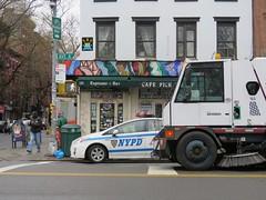 Space Invader NY_164 (tofz4u) Tags: street nyc people usa streetart ny newyork car tile cafe mosaic unitedstatesofamerica spaceinvader spaceinvaders police nypd invader pick rue mosaque artderue tatsunis ny164