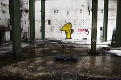 In de hal (v_rijswijk) Tags: street old city urban streetart colour abandoned colors leuven trash photography colorful exposure industrial factory colours colorfull streetphotography indoor urbanart inside urbano colourful stad urbanphotography urbex urbanstreets urbanwalls wallporn streetartistry