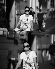 [La Mia Citt][Pedala] (Urca) Tags: portrait blackandwhite bw bike bicycle italia milano bn ciclista biancoenero mir bicicletta 2015 pedalare dittico 82260 nikondigitale ritrattostradale