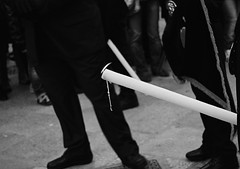 Processione dei Misteri, Trapani (arturo.gallia) Tags: bw candle sicily candela sicilia trapani misteri pasqua processione venerdisanto