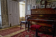 Piano (Trev Bowling) Tags: ireland londonderry northern nationaltrust ulster antrim demesne d3200 hezletthouse downhills hazletthouse