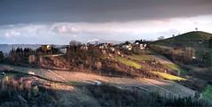 Canneto Pavese (armandocapochiani) Tags: wild italy panorama mountain colors landscape italian nikon village wine natura romantic 105 romantico collina 105mm oltrep canneto naturalistica nokond3 collinavillaggio