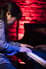Satoko Fujii live at Cortez, Mito (Japan), 28 Apr 2016 -1000056 (megumi_manzaki) Tags: musician piano jazz improvisation pianist freejazz