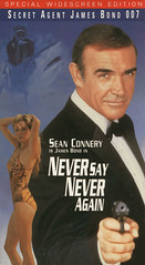 posterjamesbondVHS14NEVERSAYNEVERAGAIN (ESP1138) Tags: james bond 007 vhs poster box never say again sean connery kim basinger
