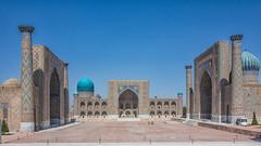 Registan Square, Samarkand (Bezzzman) Tags: asia madrasah central uzbekistan registan