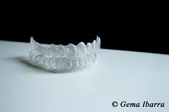 Invisible dental teeth brackets tooth plastic braces by Gema Ibarra (GemaIbarra1) Tags: beauty photography braces plastic copyspace adjusting custommade removable invisalign misalignment dentalequipment artisticphoto humanteeth