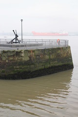 River Mersey at South Ferry Basin (Towner Images) Tags: mist water fog port liverpool river dock ship tide quay wharf anchor tidal tanker seaport quayside watercourse merseyside rivermersey towner townerimages