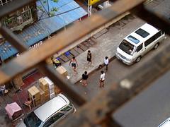 Myanmar - Ballplay (T Eisen) Tags: game kids ball yangon myanmar takraw sepak