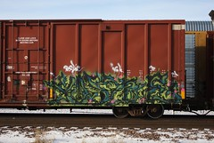 ?? (quiet-silence) Tags: railroad art train graffiti ns railcar boxcar graff freight norfolksouthern igk fr8 ns470106