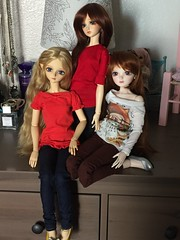 Big-Eyed Girl Brigade (sailorchiron) Tags: bjd luts soo delf miyu noella aes leeke leekeworld angelelfsoo dollga