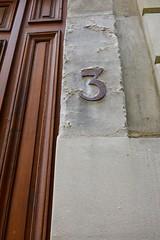 171/365 : 3 Rouill (Eurel Laugh) Tags: city urban nikon rust details rusty number nombre ville rouille d7100