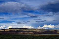 "billowy diversity (listening to ""all my days"", alexi murdoch) (jeneksmith) Tags: blue terrain brown green nature grass rain clouds canon landscape grey utah natural gray canoneos70d"
