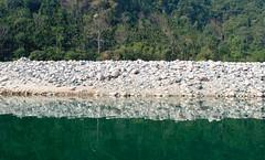 River bank. (maringc) Tags: india discover meghalaya dawki mawlynnong northeastindia photoaddict pictoftheday mynikonlife shangtuh comaroadtrip