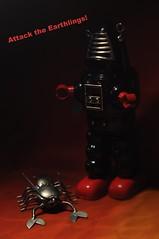 captain midnight (werewegian) Tags: black robot midnight creature martian jan16 werewegian day10366 366the2016edition 3662016 10jan16