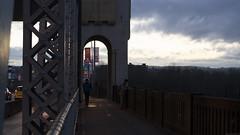 Bridge (Geoff England) Tags: lighting street bridge light canada west st night vancouver digital dark coast twilight bc pacific northwest low north columbia sombre british burrard pnw