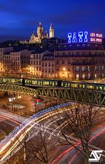Paris 18me (A.G. Photographe) Tags: paris france french nikon europe montmartre sacrcoeur ag bluehour capitale nikkor franais parisian tati anto barbs xiii parisien 2470 d810 paris18me antoxiii agphotographe