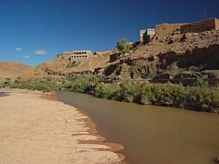 Draa river at Taliouine (nisudapi) Tags: river morocco kasbah agdz draa 2015 draavalley tallouine