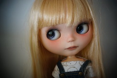 Snow, Vainilladolly custom, is looking for a new home
