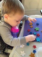"""Paul Plays with Star Stickers • <a style=""""font-size:0.8em;"""" href=""""http://www.flickr.com/photos/109120354@N07/24707101852/"""" target=""""_blank"""">View on Flickr</a>"""